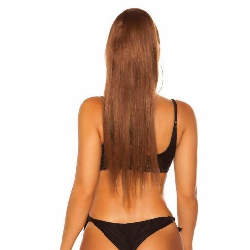 Top bikini ajustable negro [1]