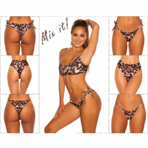 Top bikini ajustable leopardo [3]