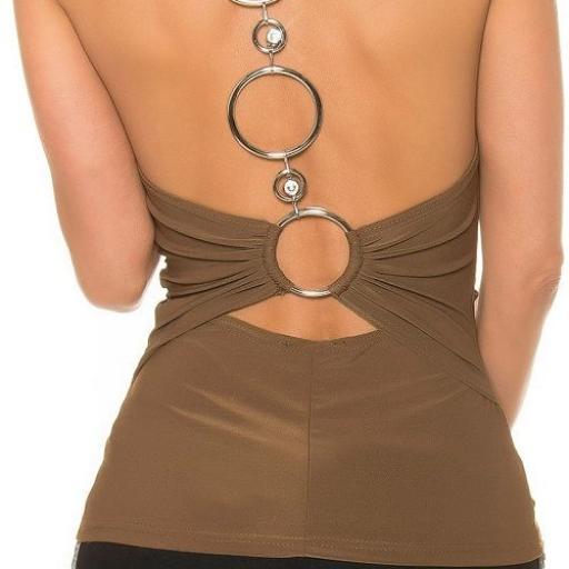 Top de moda con anillos en espalda [2]