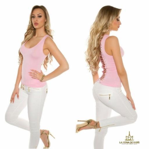 Top rosa con lazada en la espalda  [1]