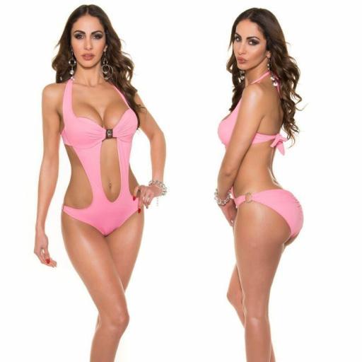 Oferta trikini rosa con hebilla [1]