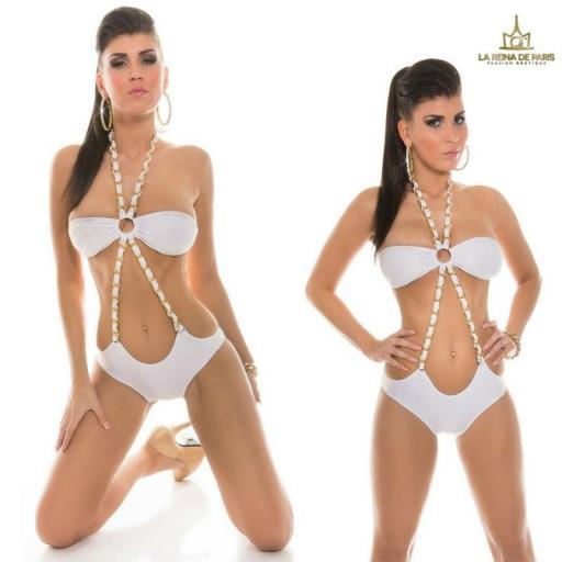 Trikini Blanco moderno Córcega  [1]