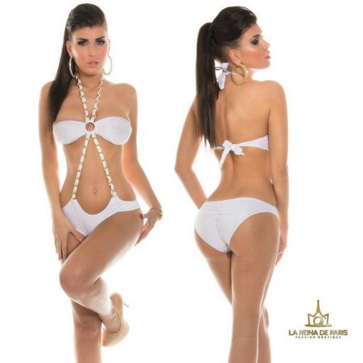 Trikini Blanco moderno Córcega