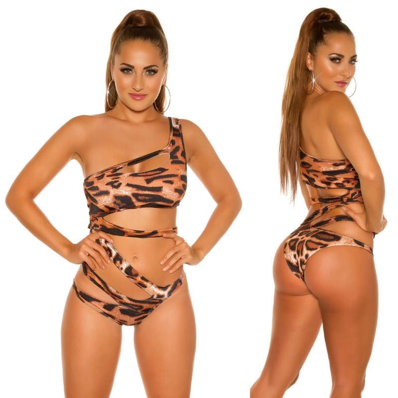 Trikini Exuma leopardo