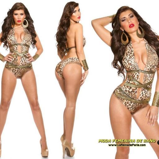 Trikini de moda serpiente de oro [1]