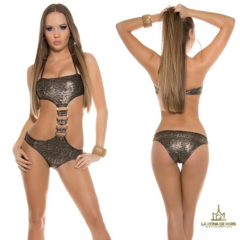 Trikini elegante Akumal Serpiente