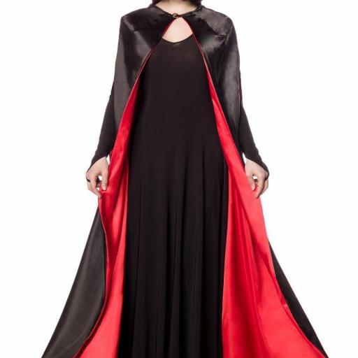 Vampira disfraz clásico
