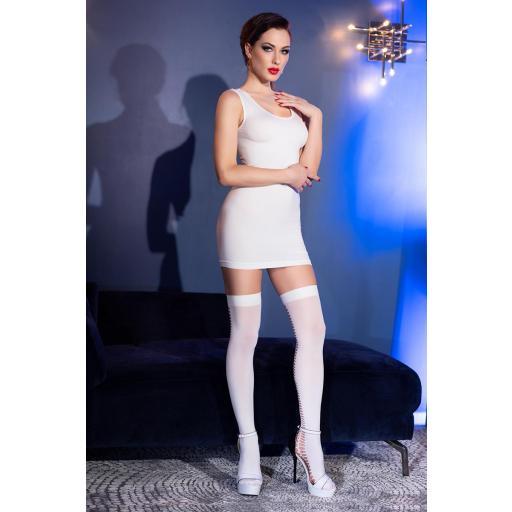 Vestido con medias a juego incluidas