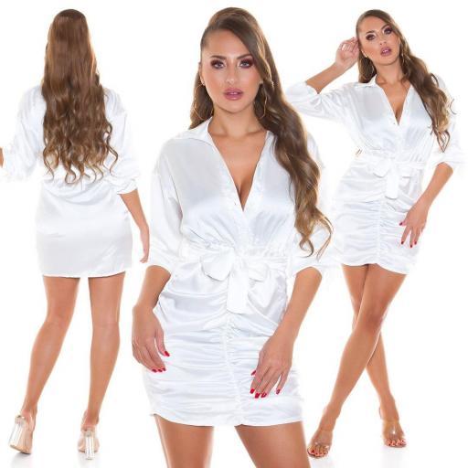 Vestido fantasía blanco