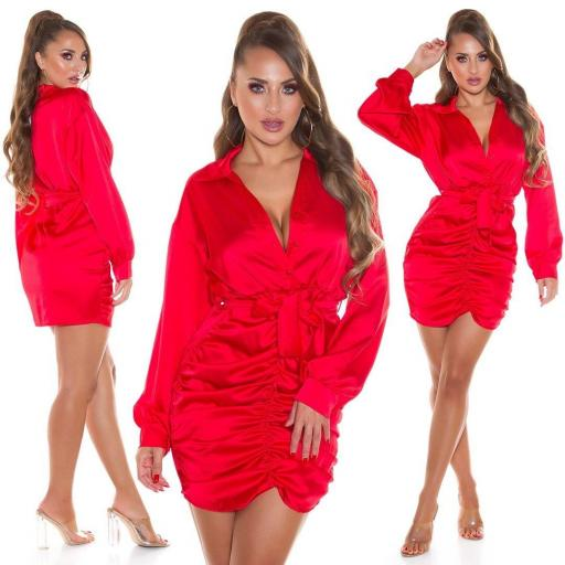Vestido fantasía rojo
