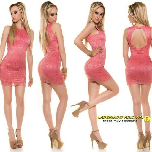 Vestido de encaje espalda descubierta [3]