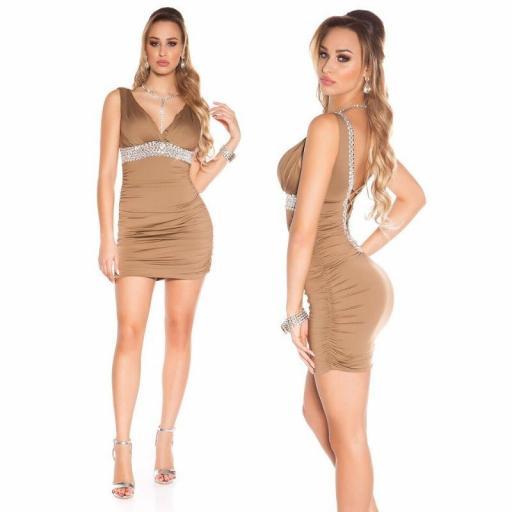 Vestido corto de fiesta en rebajas   [1]