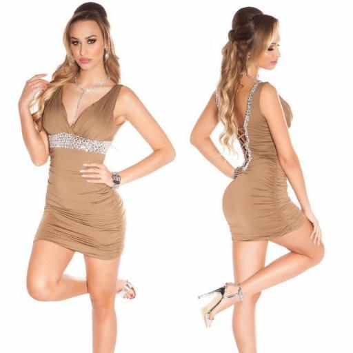 Vestido corto de fiesta en rebajas   [2]