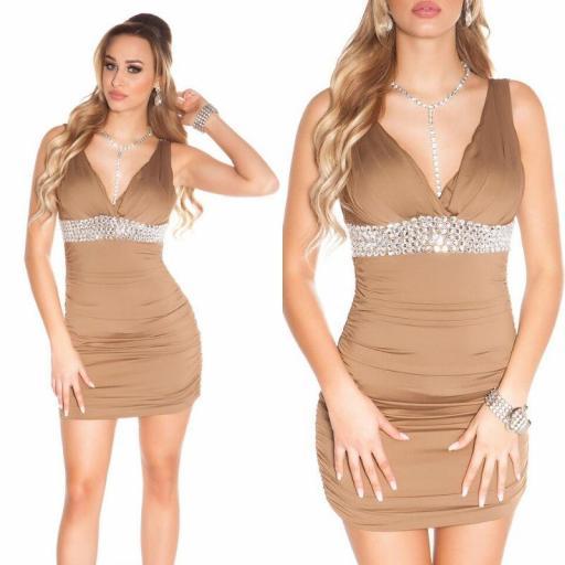 Vestido corto de fiesta en rebajas   [3]