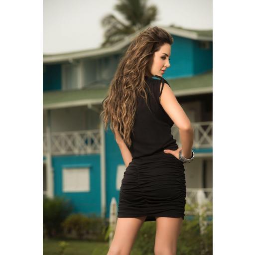 Vestido encanto negro