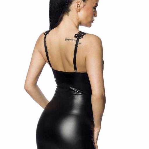 Vestido sexy con encaje de ganchillo  [1]