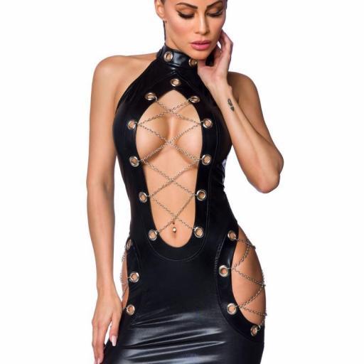 Vestido cordones de cadenas [0]