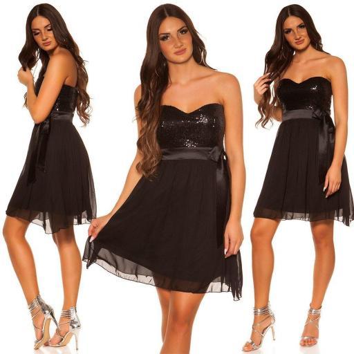 Girly party vestido negro