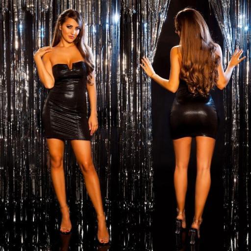 Vestido de fiesta marcatipazo negro