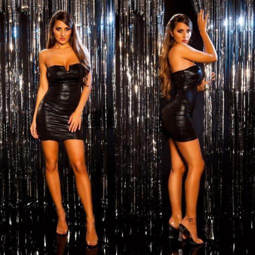 Vestido de fiesta marcatipazo negro [1]
