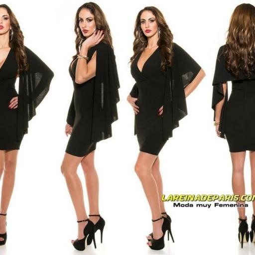 Vestido ceñido look de moda precioso [1]
