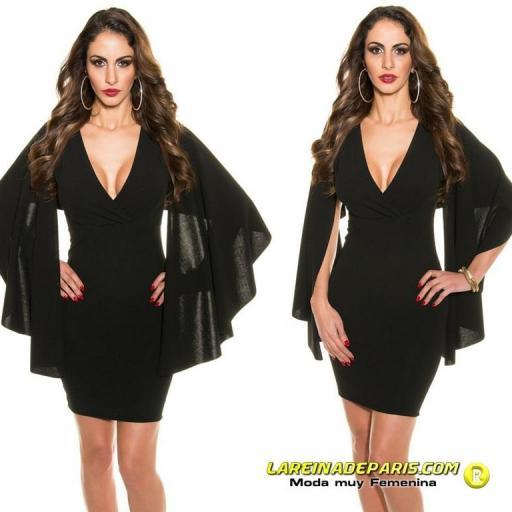 Vestido ceñido look de moda precioso [3]