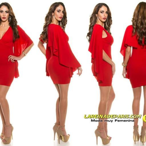 Vestido ajustado rojo ¡Estarás perfecta!