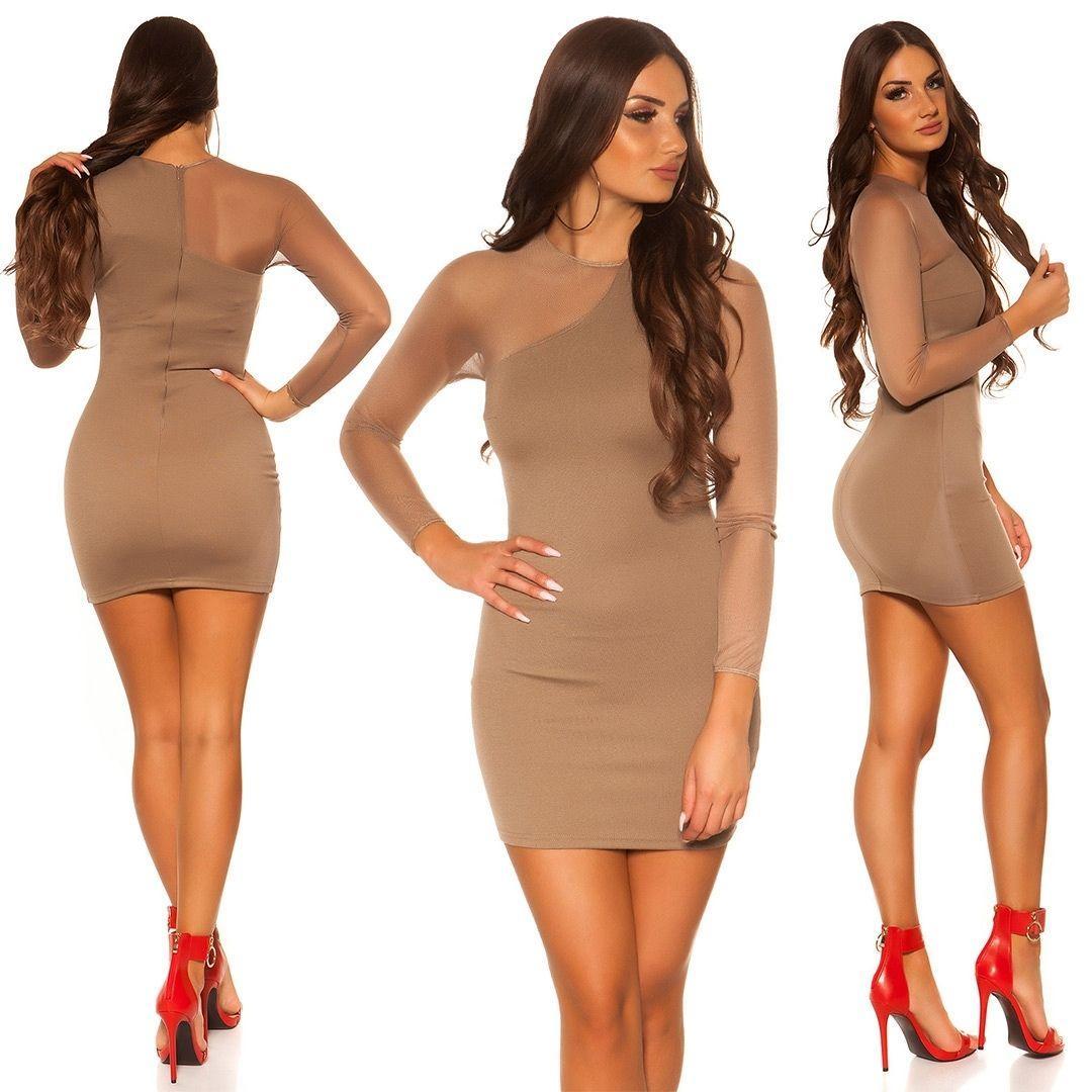 Vestido corto de moda online atractivo