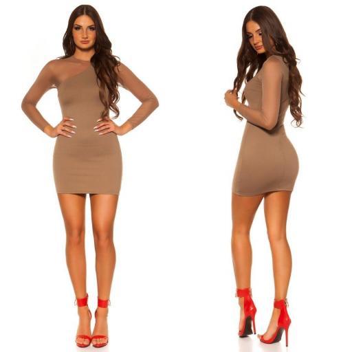 Vestido corto de moda online atractivo [1]