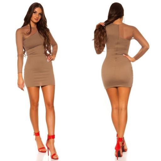 Vestido corto de moda online atractivo [2]