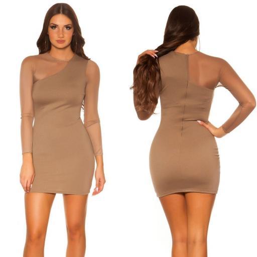 Vestido corto de moda online atractivo [3]