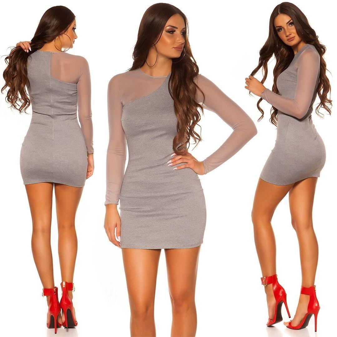 Vestido de moda look moderno y elegante