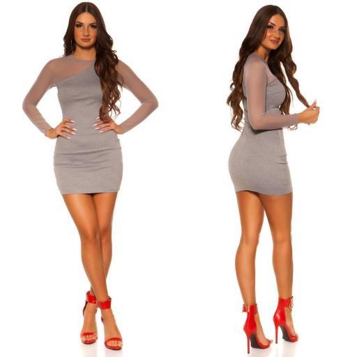Vestido de moda look moderno y elegante [1]