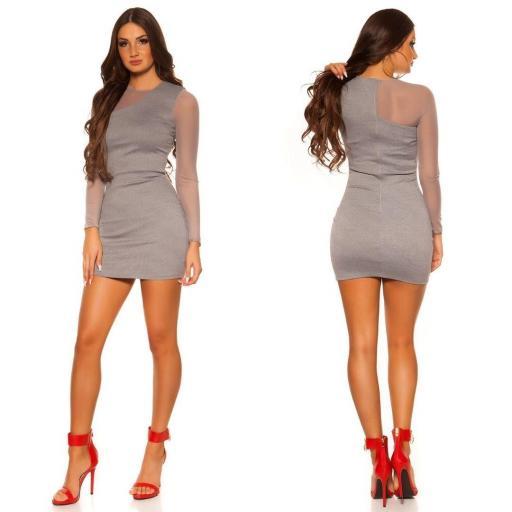 Vestido de moda look moderno y elegante [2]