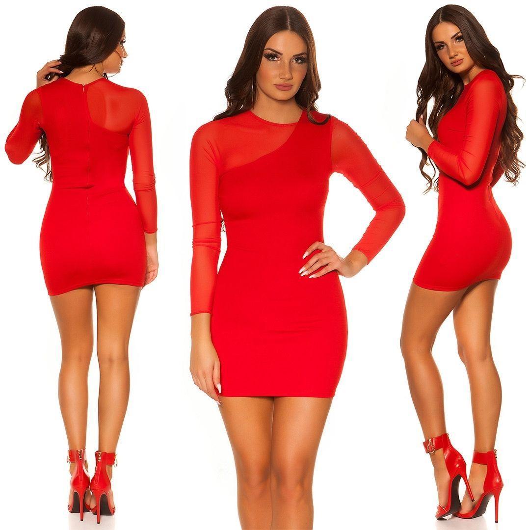 Vestido rojo de moda arma de seducción