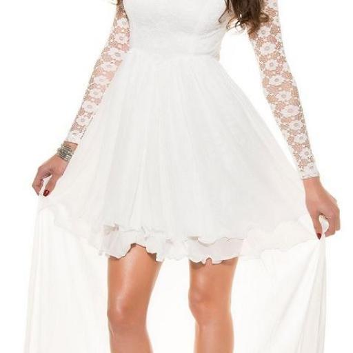 Vestido de noche de encaje Fairy Lady [1]