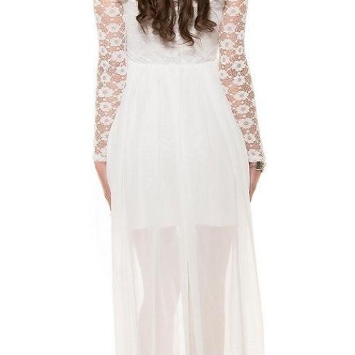 Vestido de noche de encaje Fairy Lady [2]