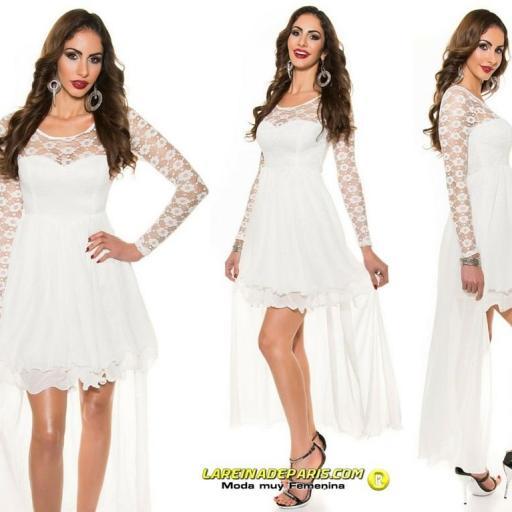 Vestido de noche de encaje Fairy Lady [3]