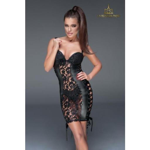 Sensual mini vestido Musa