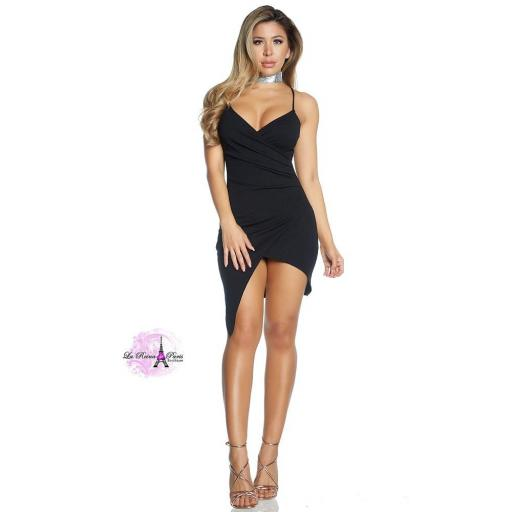 Vestido asimétrico envolvente  [3]