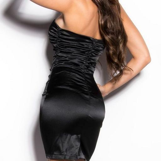 Vestido negro ceñido de cóctel  [2]
