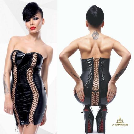 Vestido erótico provocativo
