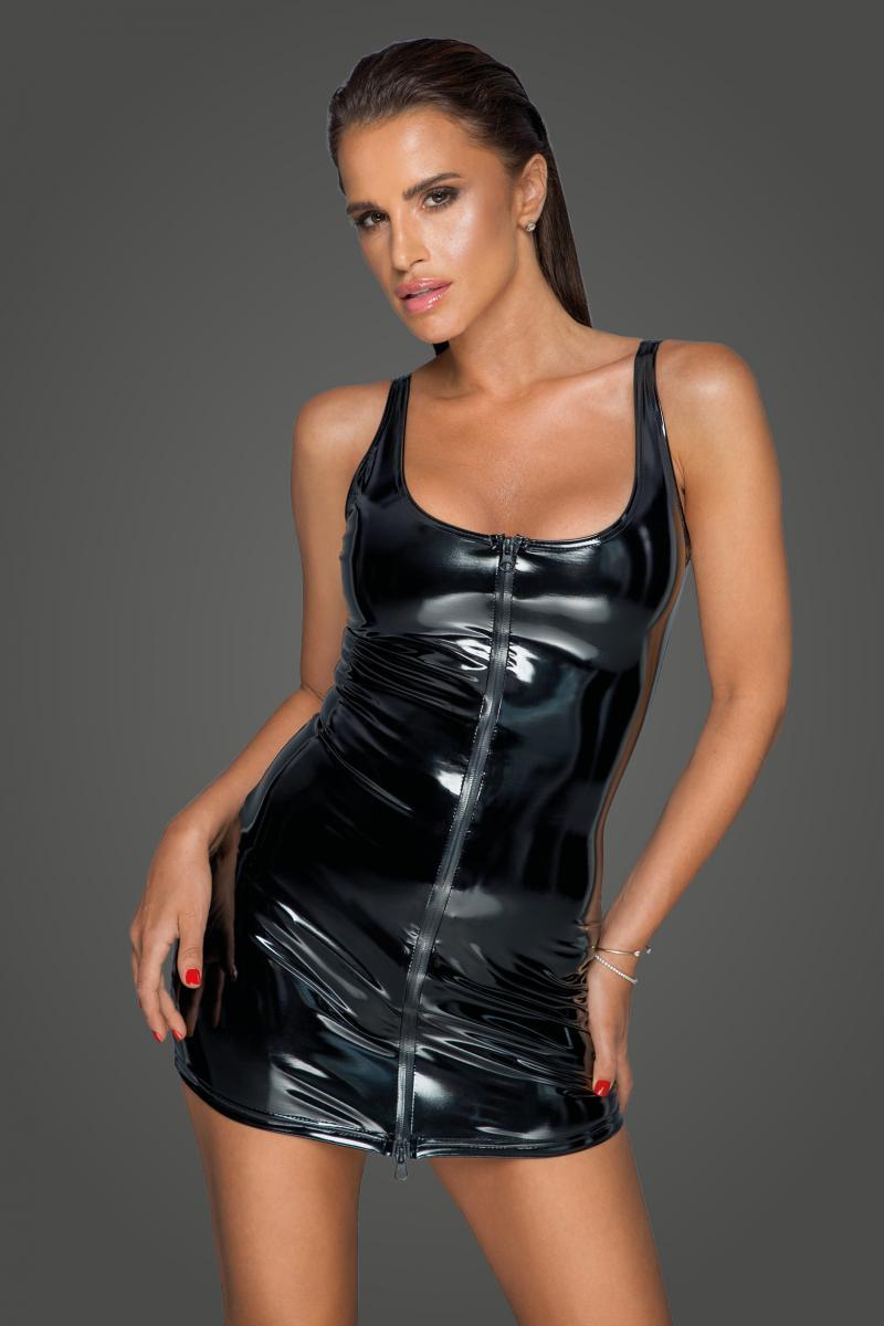 Vestido PVC cremallera bidireccional