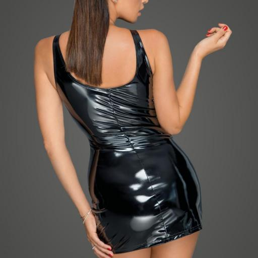 Vestido PVC cremallera bidireccional   [1]