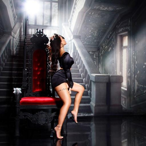 Vestido de fiesta sexy brillante negro [2]