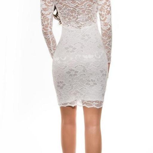 Vestido blanco icono de elegancia  [1]