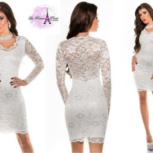 Vestido blanco icono de elegancia  [2]
