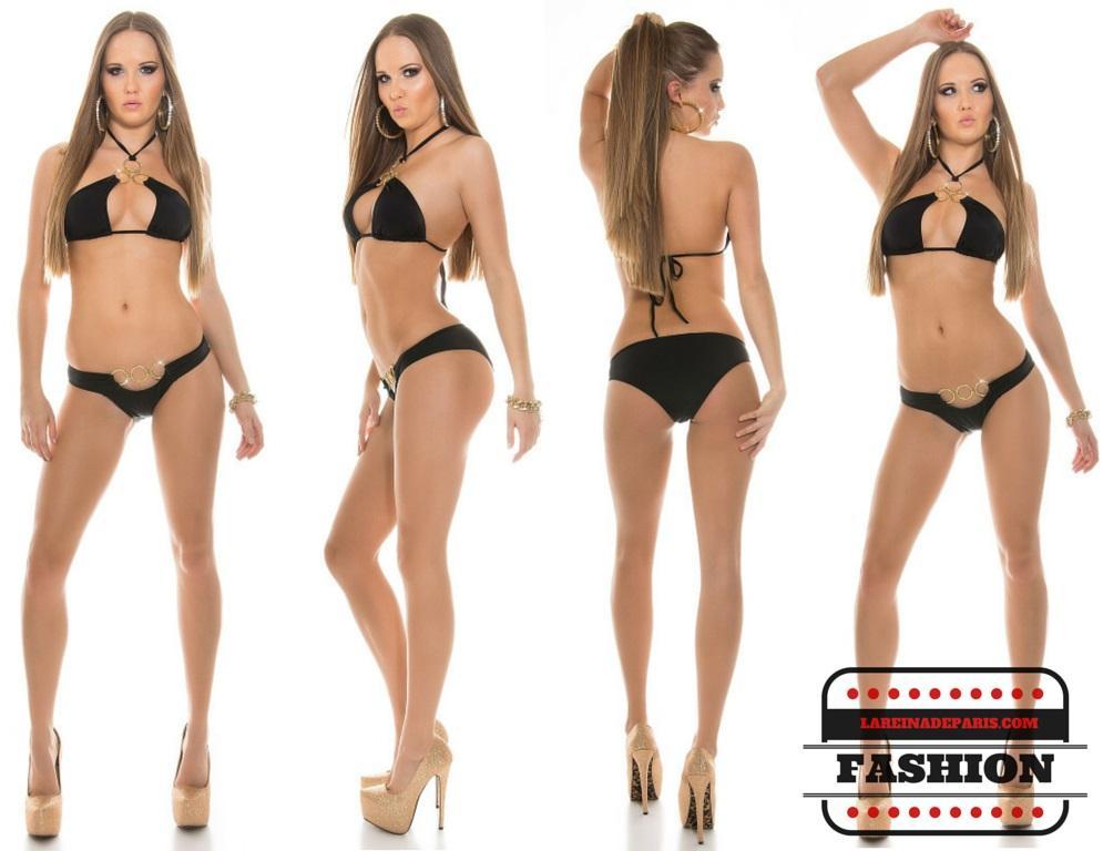 Bikini de lo más sexy Noelle Negro