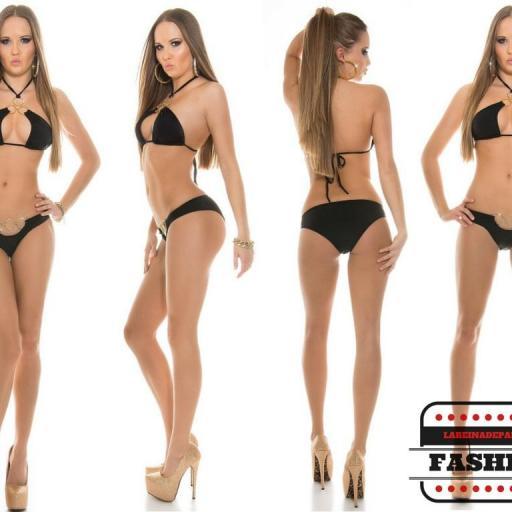 Bikini de lo más sexy Noelle Negro [2]