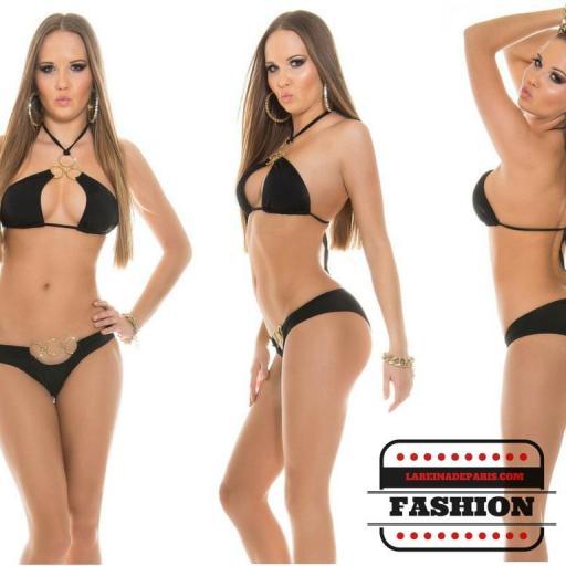 Bikini de lo más sexy Noelle Negro [3]